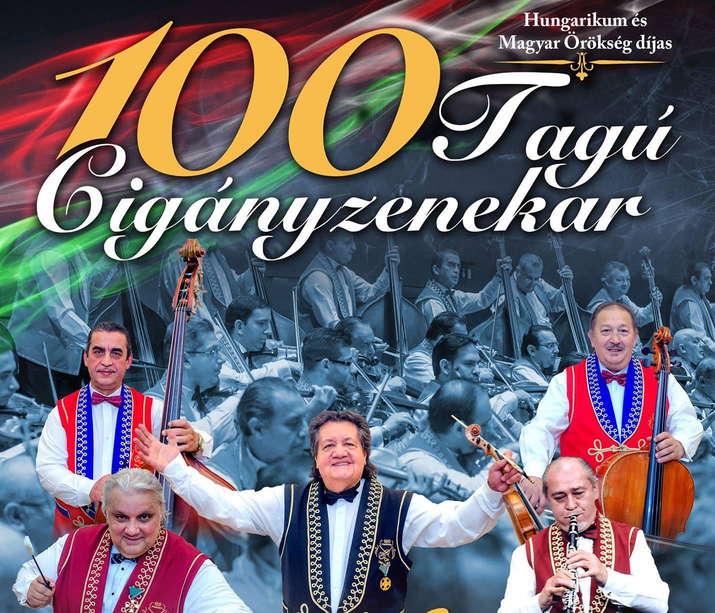 """Képtalálat a következőre: """"Tíz év után újra az Arénában a 100 Tagú Cigányzenekar"""""""